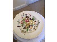 Garden Bouquet design plate