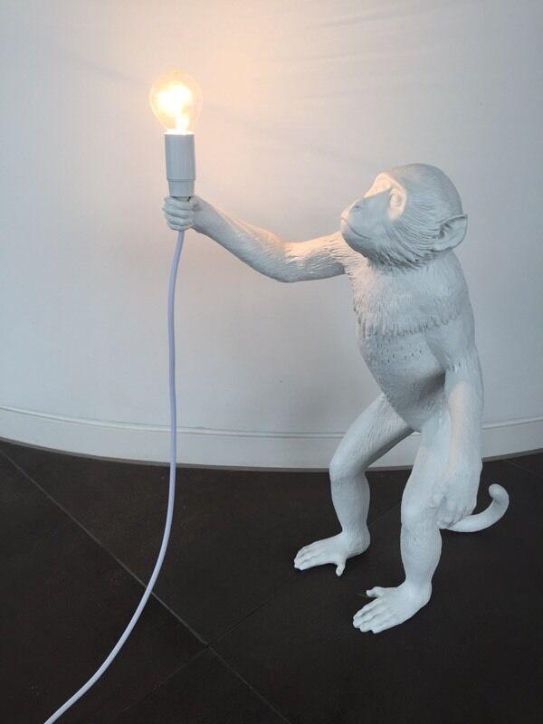 seletti standing monkey lamp designer in chelsea. Black Bedroom Furniture Sets. Home Design Ideas