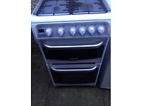 Gas cooker - like new - oven & grill unused -