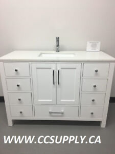 "36"" & 48"" WOOD Construction Bathroom Vanity """"BLOW OUT SALE"""""