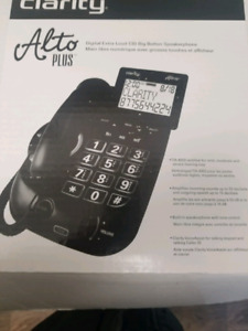 Clarity Alto Plus Phone for the hard of hearing