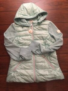 New women's down filled fall jacket