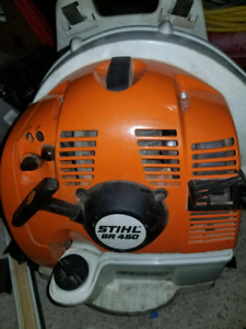 Selling stihl br 450 backpack blower