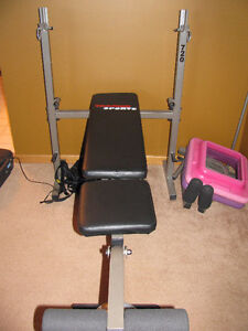 Almost new weight bench - Trainor