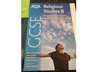 GCSE RE text booksx2