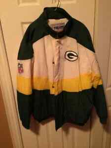 Green Bay Packers Apex Winter Coat Size XL