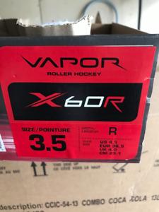 Bauer Vapor X60R Roller Blades Size 3.5