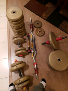 Weights and bars