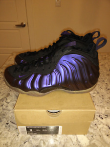 f67d87e0712 Nike Air Foamposite One Eggplant Size 9 DS