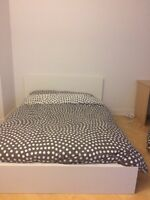 Double/Queen bed from Ikea