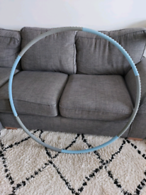 Weighted hula hoop for exercise
