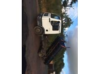 Man tgl 7.150 tipper roll on roll off skip transit sprinter