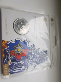 2020 Queen's Beasts White Lion of Mortimer £5 Royal Mint Sealed Pack