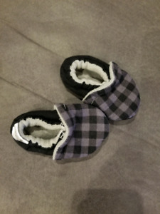 Boys slippers and coat