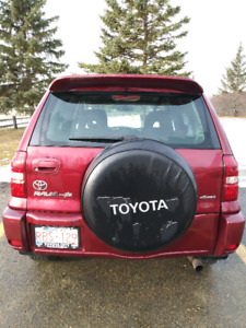 """For Sale:  2005 Toyoto Rav4 """"Chili"""", in excellent shape!"""