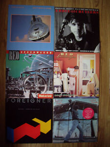 6 records from the 80's for sale in Truro