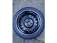 Spare tyre / wheel for Nissan Micra with Car jack kit