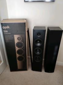 Polk audio T50 floor standing speakers (pair)
