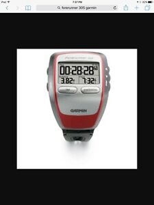 Garmin forerunner 305 watch