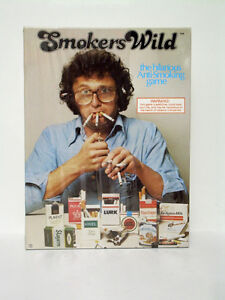 Vintage 1978 Smokers Wild Board Game - NEW