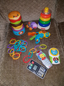 Stackers, musical toys