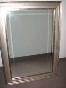 """Beautiful Mirror with heavy duty hangers 31"""" high x 43"""" wide $55"""