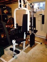 Multi Fitness Total Gym weight bench