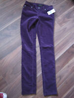 two pairs of brand new skinny pants for sale