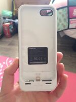 Mophie iPhone 5 case with power pack and storage built in