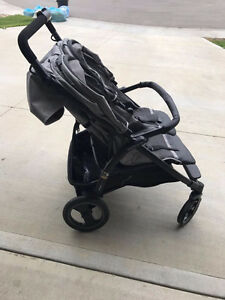 double peg perego stroller - barely used/excellent condition