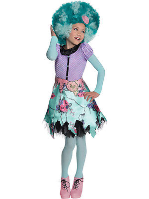 Child Monster High Honey Swamp Outfit Fancy Dress Costume Book Week - Monster High Honey Swamp Kostüm
