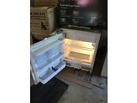 Integrated Bosch fridge with freezer box