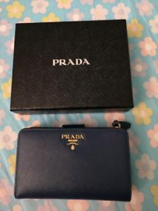 Authentic Used Prada Medium Saffiano Leather Wallet