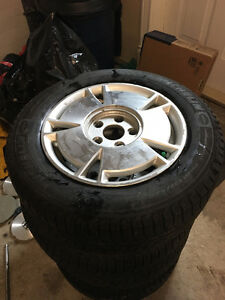 15 inch Michelin X Ice Civic rims and tires St. John's Newfoundland image 1