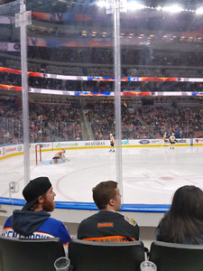 Row 3 Oilers tickets