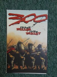 Frank Miller Comic Book #1 - 300 First Printing basis for movie