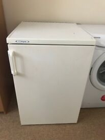 Under counter fridge - good condition works very well - small ice compartment