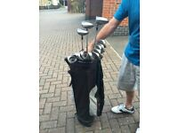 Golf Clubs, Trolley & Bag