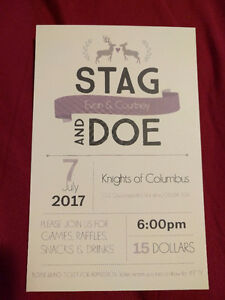 Stag and doe July 7th