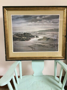 Original Jack Reid watercolour signed and framed