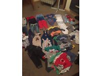 Job lot of 1/2 year old boys clothes