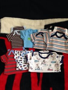 Boys nb-3month onesies