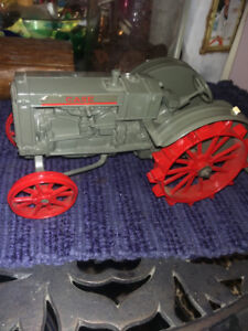 Case and International Metal Tractor Replicas