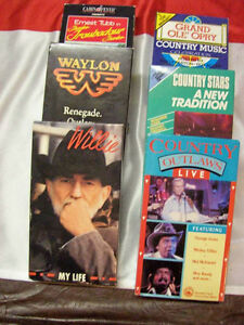 VHS TAPES   COUNTRY AND WESTERN Regina Regina Area image 1