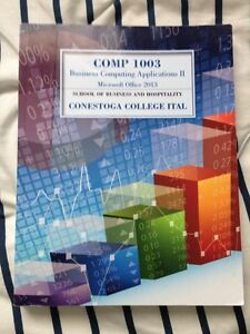 Business Computing Applications COMM1003