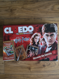 Harry Potter cluedo family set