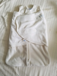 HALO microfleece swaddle sleepsack size newborn
