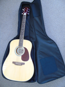 Northland Acoustic Guitar with Case
