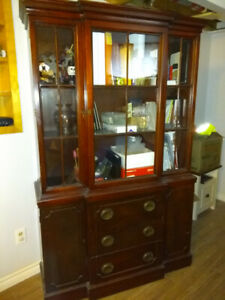 Antique bookcase/display cabinet for sale