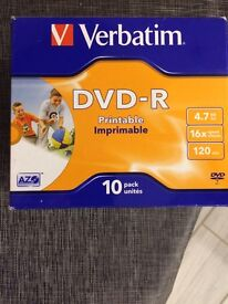 DVD. R pack of 10 x 7 that's 70 disc in total